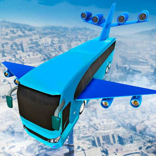 Futuristic Flying Bus Shooter Air fight