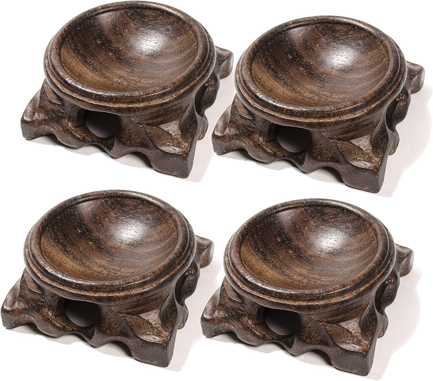 Wooden Stand for Crystal Wholesale Sphere Quartz Egg Ball Holder Bombing free shipping Orb Base