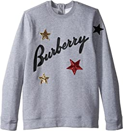 Burberry Kids - Star Long Sleeve Top (Little Kids/Big Kids)