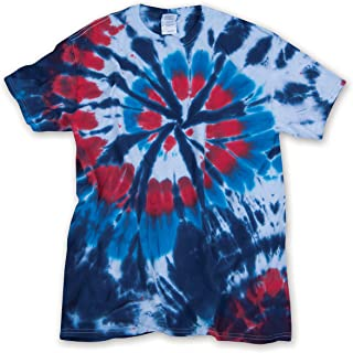 Cut Spiral Unisex Adult Tie Dye T-Shirt Tee