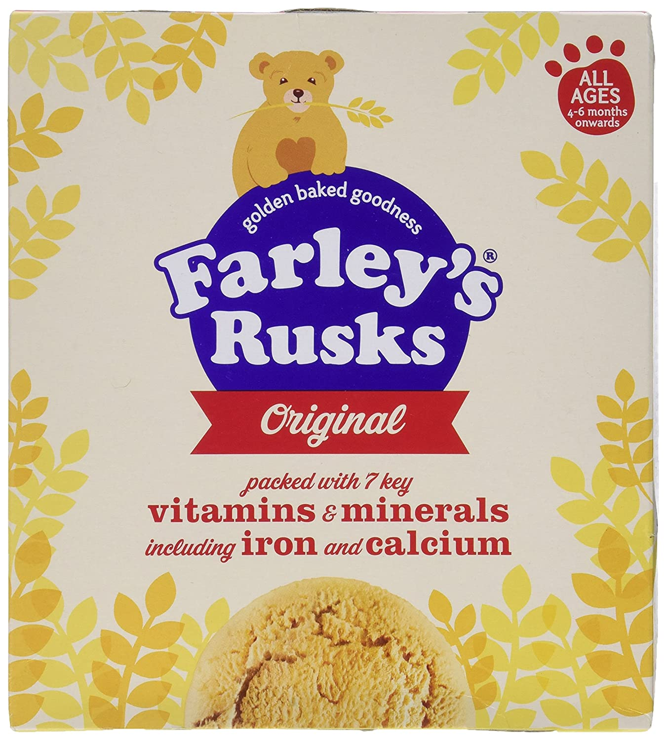 Heinz Farley's Rusks Original 4mth+ 300g Max 45% OFF pack - 18 Discount mail order per