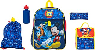 Disney Mickey Mouse 5 Pc Set Backpack