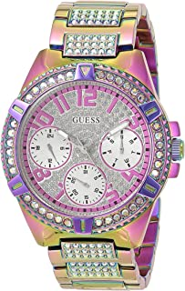 GUESS Womens Quartz Watch, Analog Display and Stainless Steel Strap GW0044L1