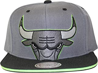 Mitchell & Ness Chicago Bulls Altitude 13's Cropped Snapback Grey