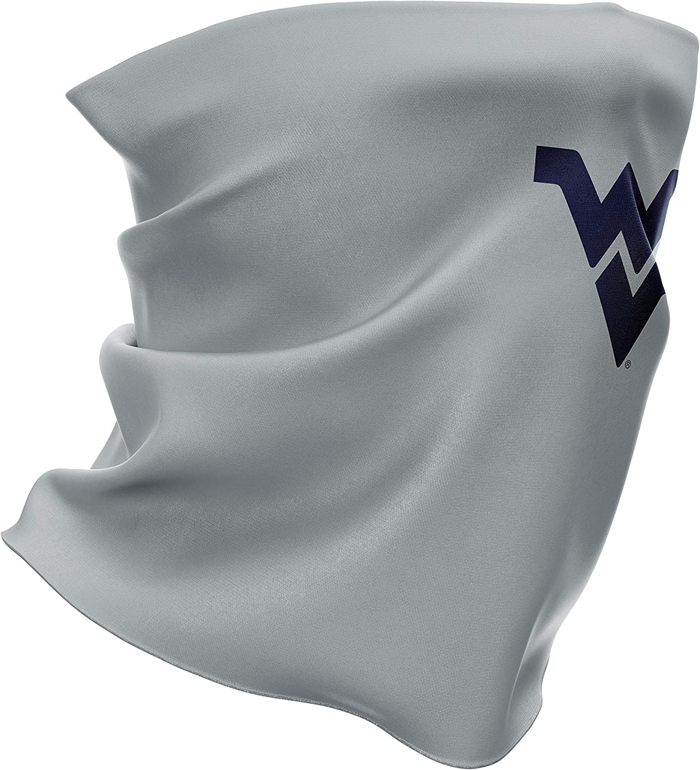 Top of the World Stretchy Cotton Poly Blend Gaiter Scarf Gray Heather