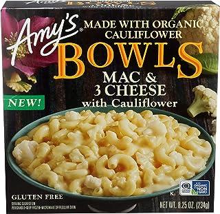 Amy's Mac & 3 Cheese with Cauliflower Bowl, 8.25 Oz (Frozen)