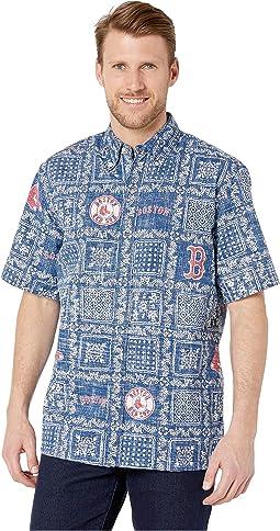 Boston Red Sox Lahaina Hawaiian Shirt