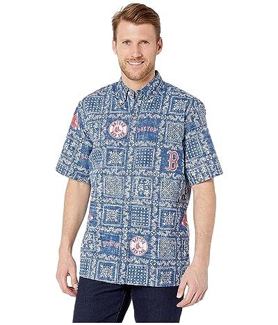 Reyn Spooner Boston Red Sox Lahaina Hawaiian Shirt (Navy) Men