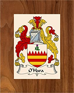 Carpe Diem Designs O'Hara Coat of Arms/O'Hara Family Crest 8X10 Photo Plaque, Personalized Gift, Wedding Gift