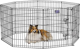 MidWest Exercise Pen / Pet Playpens | 8-Panels Each w/ 5...