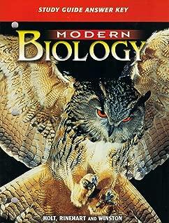 Modern Biology: Study Guide Answer Key
