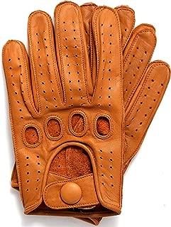 cognac driving gloves