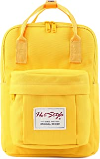 "BESTIE 12"" Small Backpack for Women, Girl's Cute Mini Bookbag Purse, Little Square Travel Bag, 11.8x8.3x4.7in"