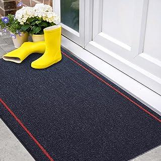 Color&Geometry Door Mats Outdoor, Anti-Slip Backing Waterproof Front Door Mat Outdoor, Easy Clean, Low-Profile Resist Dirt...