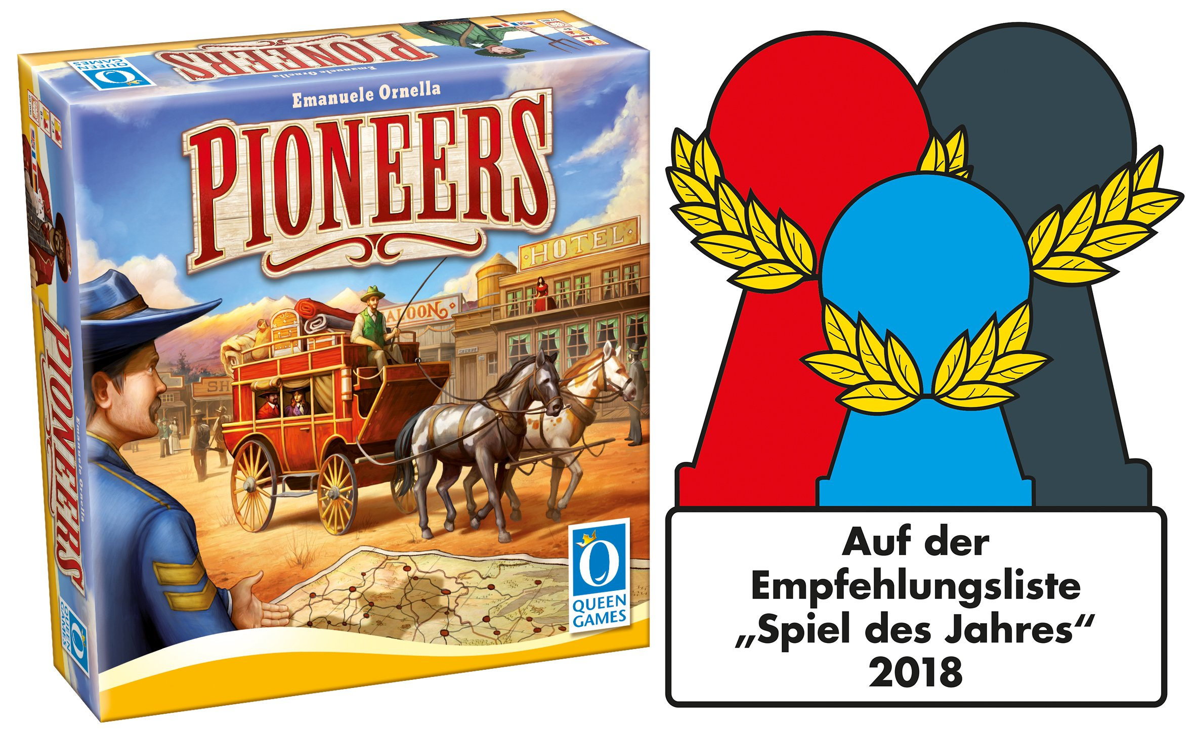 Pioneers Board Game: Amazon.es: Juguetes y juegos