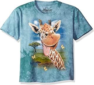 The Mountain Boys' Giraffe Selfie T-Shirt Children's