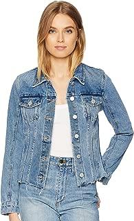 Blank NYC Womens Denim Jacket in Traffic Jam
