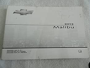 2012 Chevrolet Malibu Owners Manual