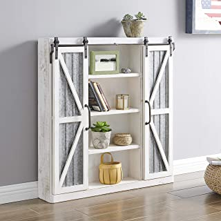Best white cabinet and hutch Reviews