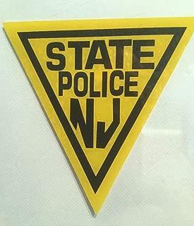 NJ - N.J. State Police (InWindshield) Decal