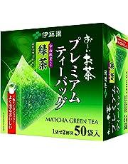 伊藤園 おーいお茶 プレミアムティーバッグ 宇治抹茶入り緑茶 50袋