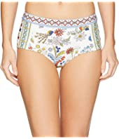 Tory Burch Swimwear - Meadow Folly High-Waisted Bottom