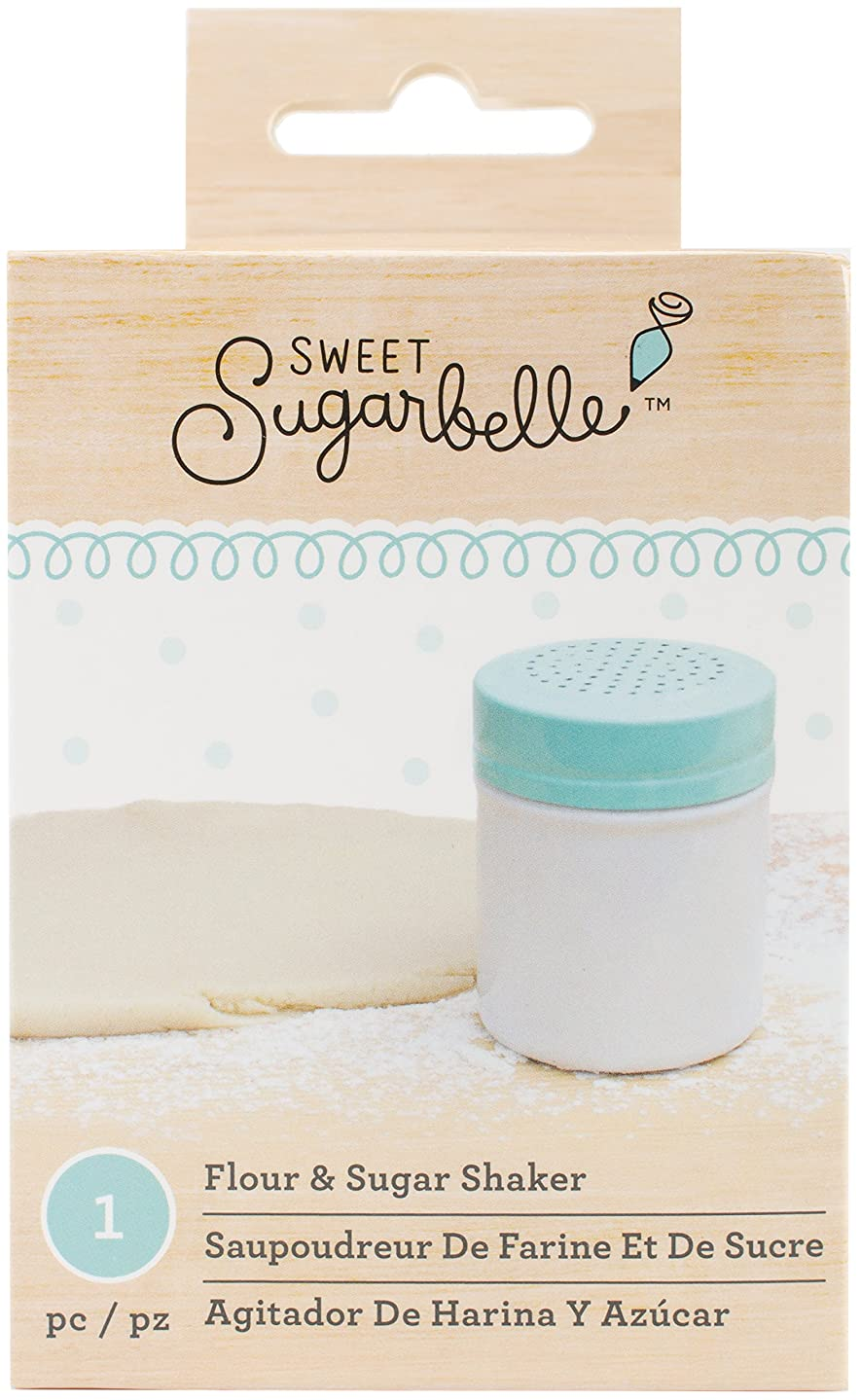 American Crafts Sweet Sugarbelle Decorating Tools Flour Shaker 8 Ounce, 8 oz