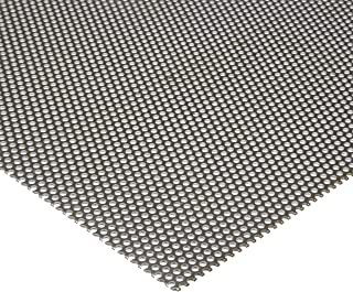 3003 Aluminum Perforated Sheet 0.1875 Center to Center 0.063 Thickness Finish Staggered Round 0.125 Holes 12 Width Unpolished H14 Temper Mill 48 Length 14 Gauge