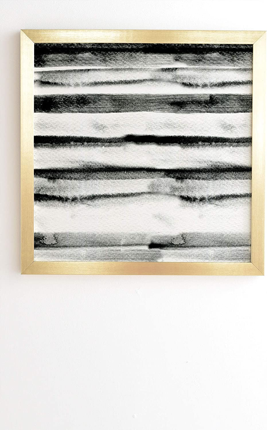 Great interest Deny Designs Cayenablanca Earth Lines Now on sale x Art Wall Gold 12