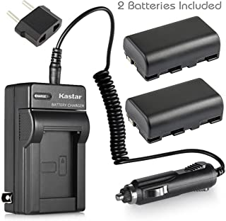 Kastar 2x Battery + Charger for Sony NP-FS11 NP-F10 NP-FS10 NP-FS12 FS31 DCD-CR1 CCD-CR5 DCR-PC1 DCR-PC2 DCR-PC3 DCR-PC4 DCR-PC5 DCR-TRV1VE Cyber-shot DSC-F505 DSC-F55 DSC-F55 DSC-P1 DSC-P20 P30 P50