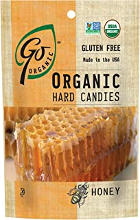 GoOrganic Organic Hard Candies, Honey, 3.5 Ounce Bag (Pack of 6)