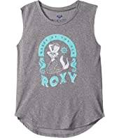 Roxy Kids - Queen of the Sea Muscle Tee (Big Kids)