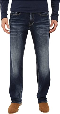 Buffalo David Bitton Driven Relaxed Straight Leg Jeans in Contrast Vintage
