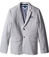 Tommy Hilfiger Kids - Knit Blazer with Gingham Lining (Big Kids)