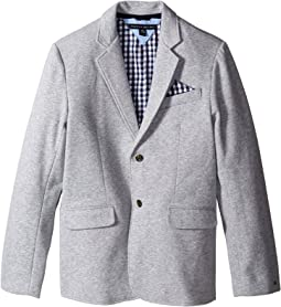 Knit Blazer with Gingham Lining (Big Kids)