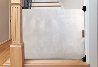 The Stair Barrier Baby and Pet Gate: Banister to Wall Baby Gate - Safety Gates for Kids or Dogs - Fabric Baby Gate for Stairs with Banisters - Made in The USA, New 2019