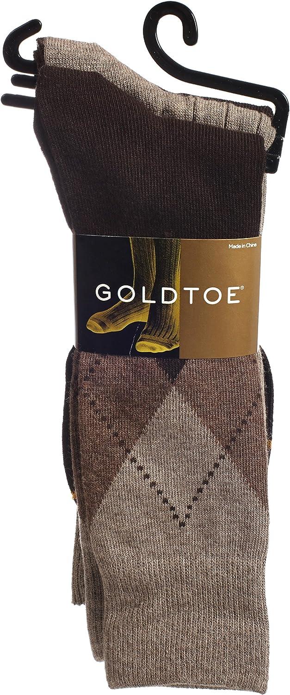Gold Toe Men's Classic Casual Multi-Pack Socks Bundle