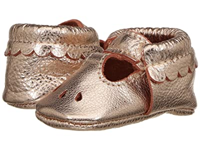 Freshly Picked Soft Sole Mary Jane (Infant/Toddler) (Rose Gold) Girl