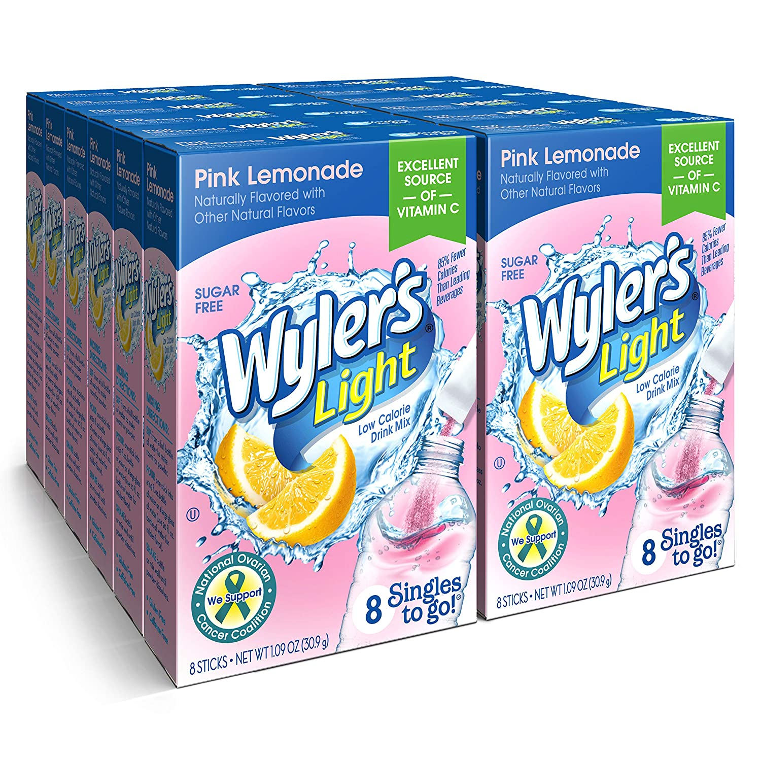 Wyler's Popular shop gift is the lowest price challenge Light Singles To Go Powder Packets Pin Mix Drink Water