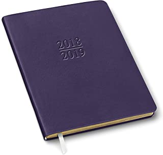 2019 Gallery Leather Academic Planner Camden Violet 9