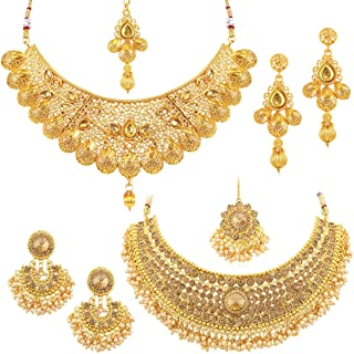 6a1b47611 Amazon.in: 50% Off or more - Traditional Imitation Jewellery: Jewellery