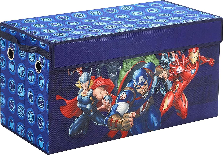 Idea Nuova Avengers Collapsible Children's Storage Toy Du 超目玉 即日出荷 Trunk