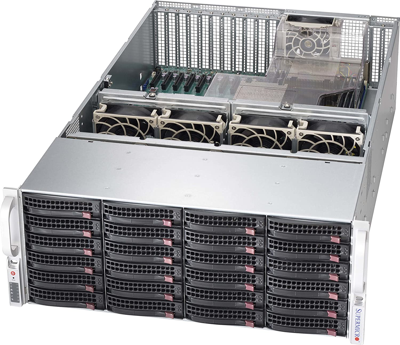 SuperMicro SC846 XE1C-R1K23B - Rack-Mountable - 4U - Extended ATX