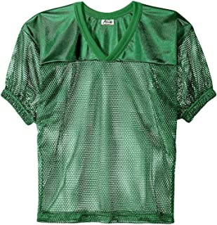 Adams Adult Football Jerseys, Porthole Mesh Practice Jersey with Dazzle Shoulders and Elastic Sleeves