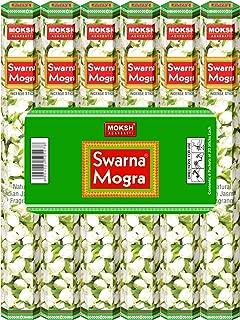 MOKSH AGARBATTI SWARNA MOGRA Incense Sticks (Indian Jasmine)