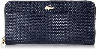 Lacoste Women's Chantaco Leather Wallet Navy