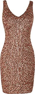 Best rose gold sparkly bodycon dress Reviews