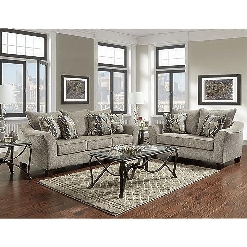 Fine Loveseat And Sofa Set Amazon Com Evergreenethics Interior Chair Design Evergreenethicsorg