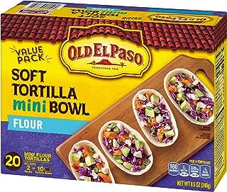 Old El Paso Taco Boats Mini Flour Tortillas 20 ct Pack