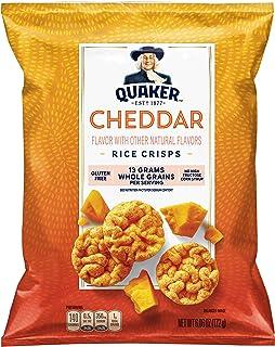 Quaker Rice Crisps, Cheddar, 6.06 Ounces